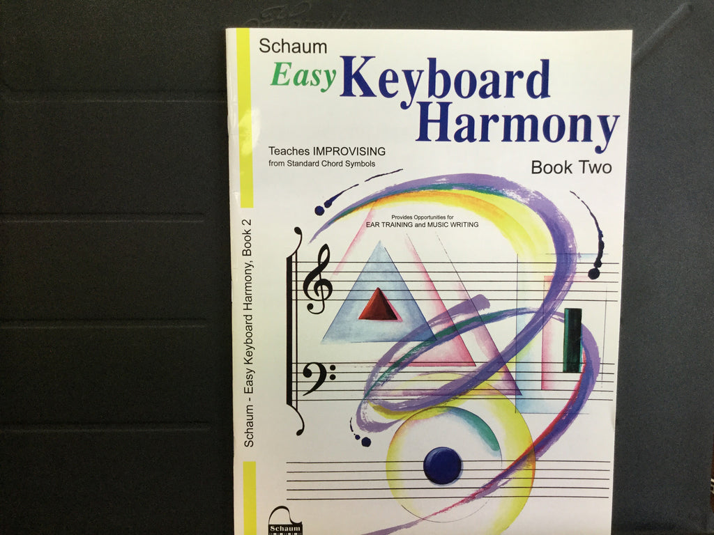 Easy Keyboard Harmony Book 2