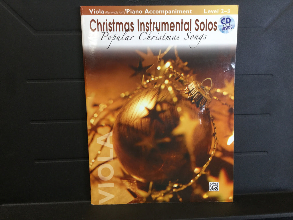 Christmas Instrumental Solos Popular Christmas Songs