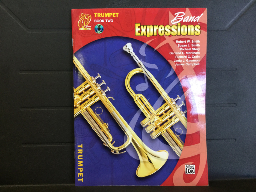 Band Expressions Trumpet Book 2