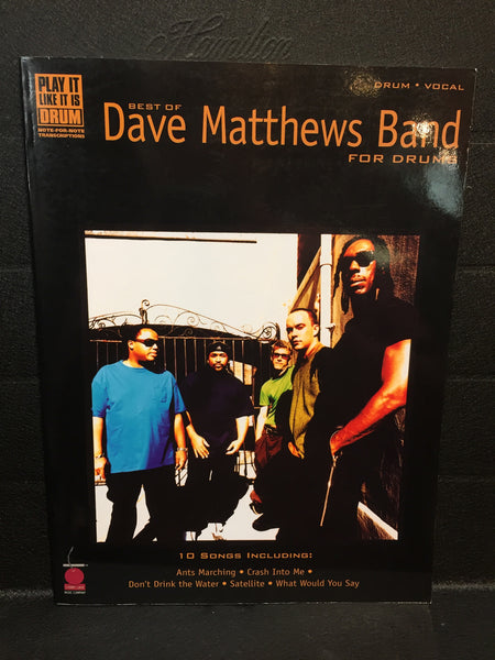 Best of Dave Matthews Band for Drums
