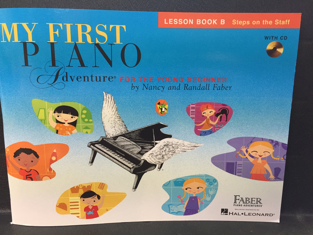 My First Piano Adventure for the Young Beginner Book B