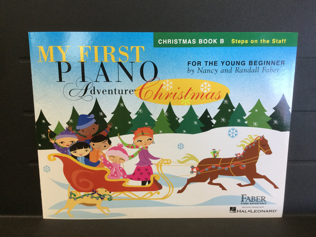 My First Piano Adventure Christmas Book B