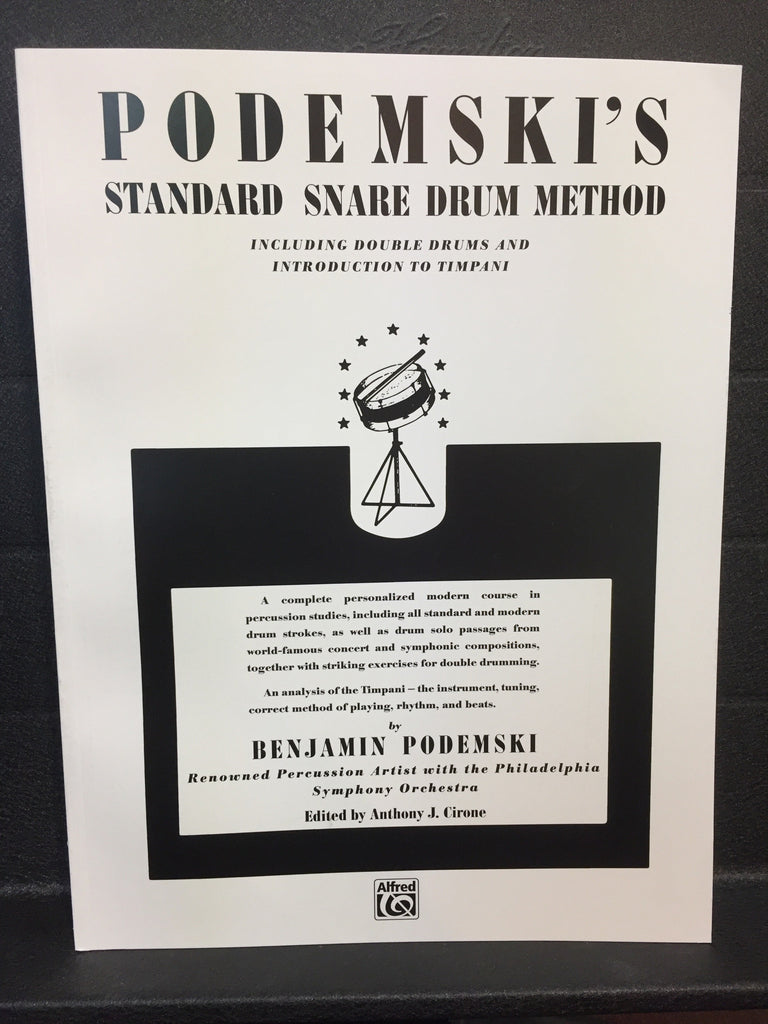 Podemski's Standard Snare Drum Method