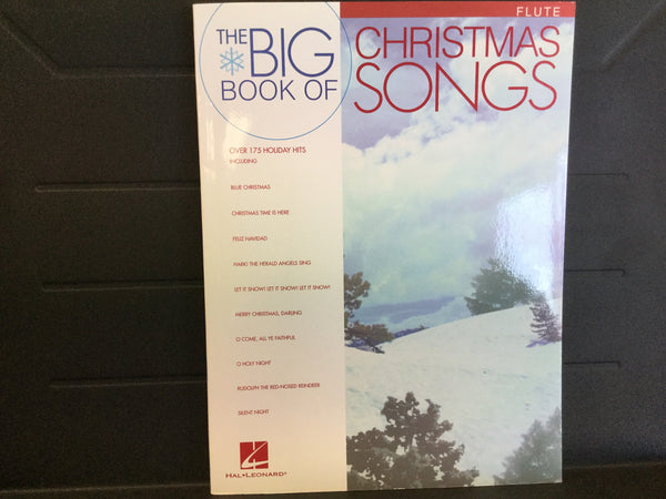 The Big Book of Christmas Songs Flute