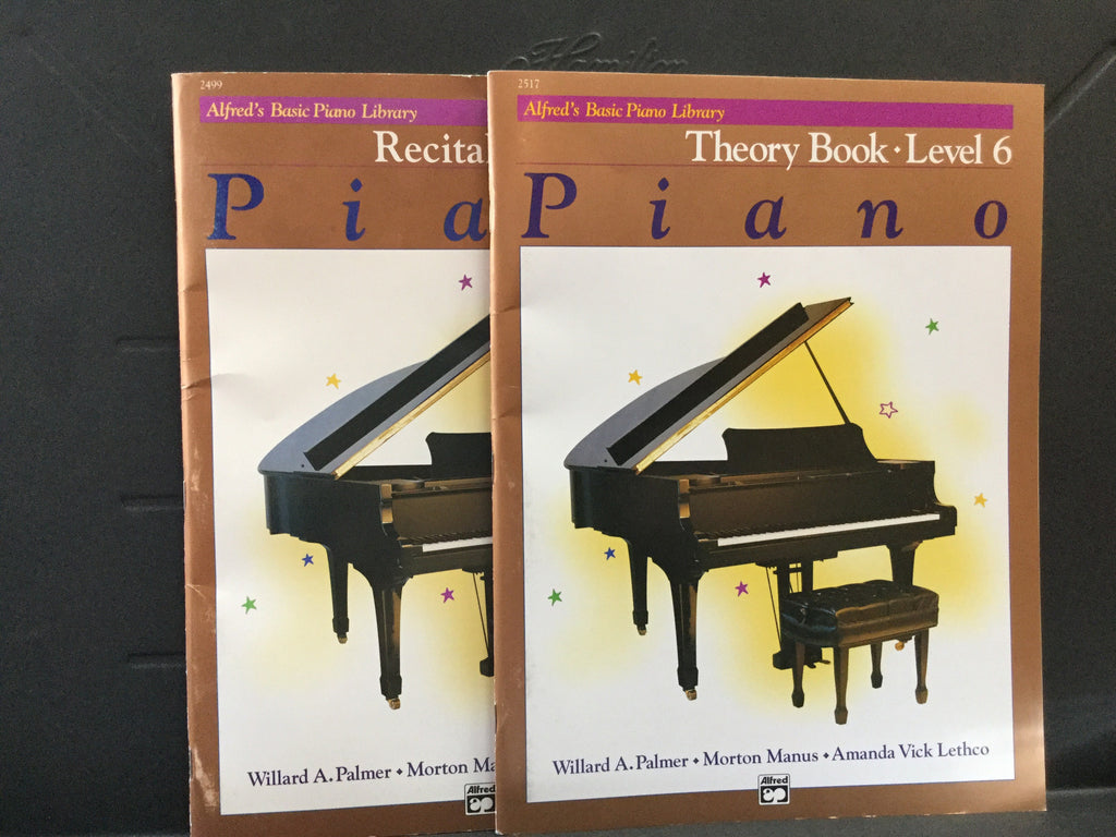 Alfred's Basic Piano Library Level 6