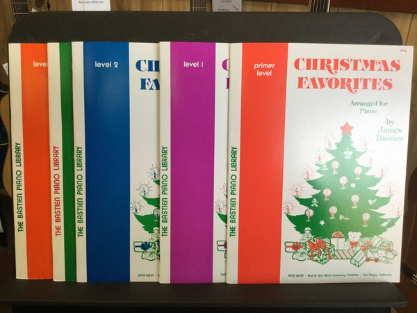 Christmas Favorites. Arranged for Piano