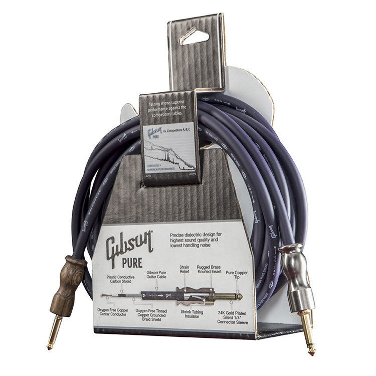 Gibson Pure Instrument Cables - 18 Foot Cable