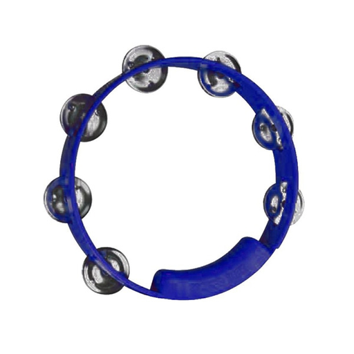"Rhythm Tech True Colors 8""  Blue Tambourine"