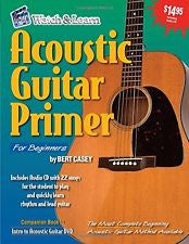 Watch and Learn Acoustic Guitar Primer