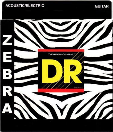 DR Zebra Acoustic/Electric Strings