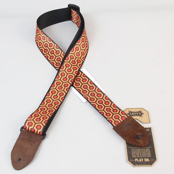 Levy's Leathers Hex Guitar Strap