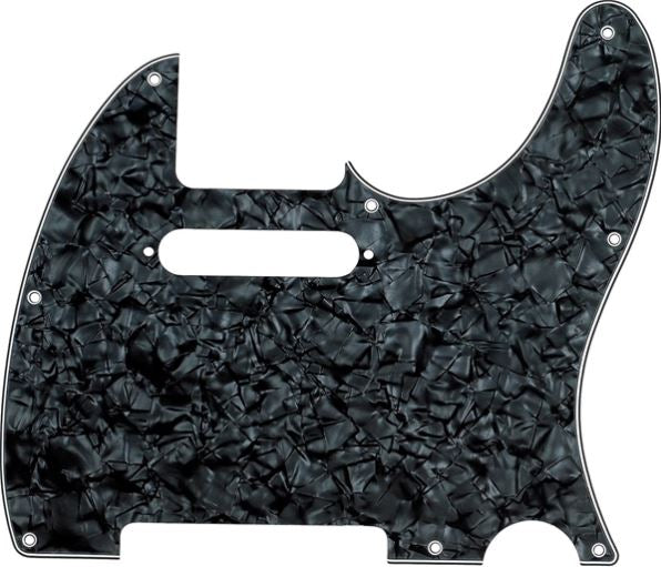 Fender Telecaster 8-Hole Pick Guard Black Pearl