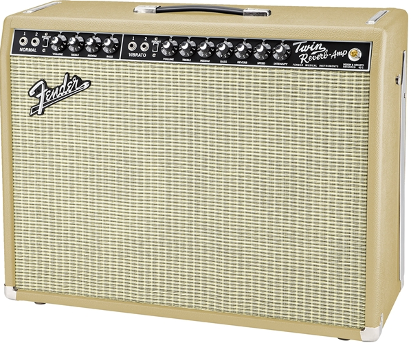 '65 Twin Reverb® Tan & Cream Amplifier