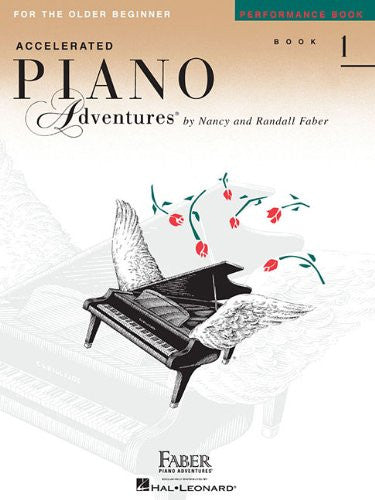 Accelerated Piano Adventures For the Older Beginner Book 1