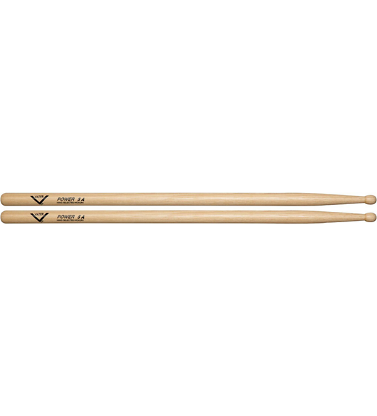 Vater Hickory Drumsticks Power 5A Wood