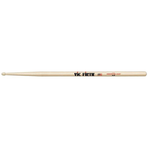 Vic Firth American Jazz Hickory Drumsticks Wood AJ3