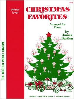 Bastien Christmas Favorites. Arranged for Piano