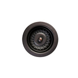 "D-132ORB - 3.5"" Kitchen, Prep, Bar Basket Strainer Drain - Oil Rubbed Bronze"