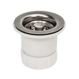 "D-133BN - 2"" Bar Basket Strainer Drain - Brushed Nickel"