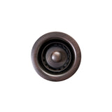 "D-133ORB - 2"" Bar Basket Strainer Drain - Oil Rubbed Bronze"