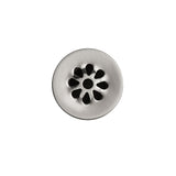 "D-207BN - 1.5"" Non-Overflow Grid Bathroom Sink Drain - Brushed Nickel"