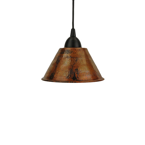 l300db hand hammered copper 7 cone pendant light eli home products