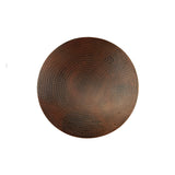 "LS18DB - 18"" Hand Hammered Copper Lazy Susan"
