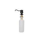 PCP-701ORB - Solid Brass Soap & Lotion Dispenser in Oil Rubbed Bronze