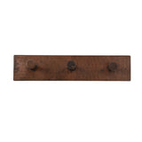 RH3 - Hand Hammered Copper Triple Robe/Towel Hook