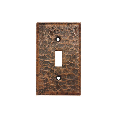ST1_PKG2 - Copper Switch Plate Single Toggle Switch Cover - Quantity 2