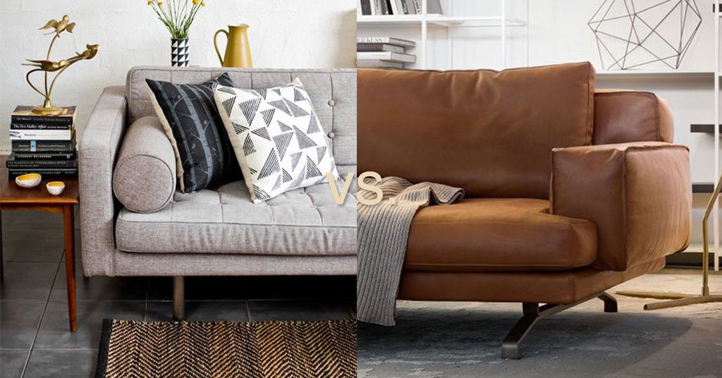 Which Sofa is Best for You: Leather or Fabric?