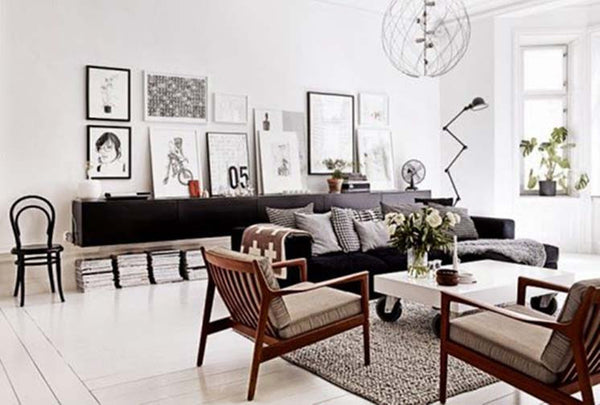 Go Monochrome: 5 Ways To Get the Minimalist Look at Home