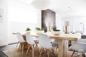 Eames chair in dining room