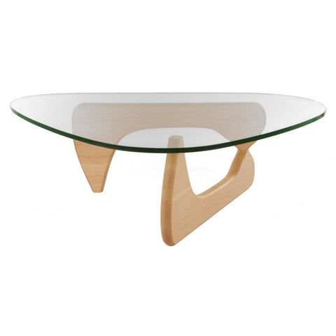 Noguchi Style Triangle Coffee Table Wazo Furniture
