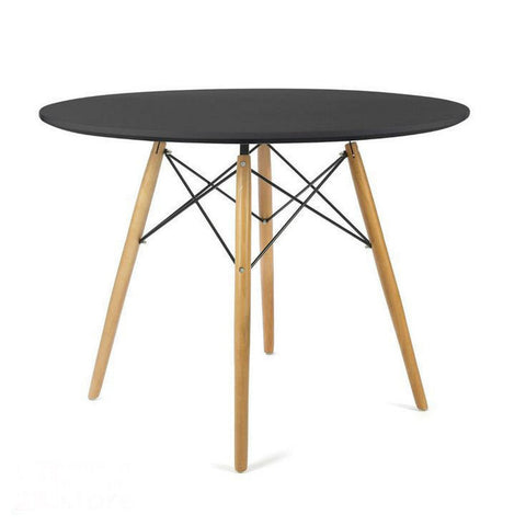 Black Wazo Eiffel Table – 80 cm