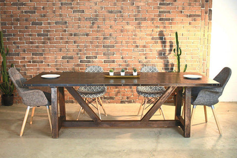 WENTWORTH Farmhouse Dining Table-Table-Wazo Furniture