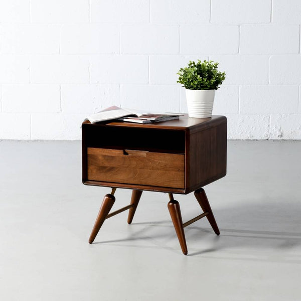 EVAN 1-Drawer Night Table - Wazo Furniture