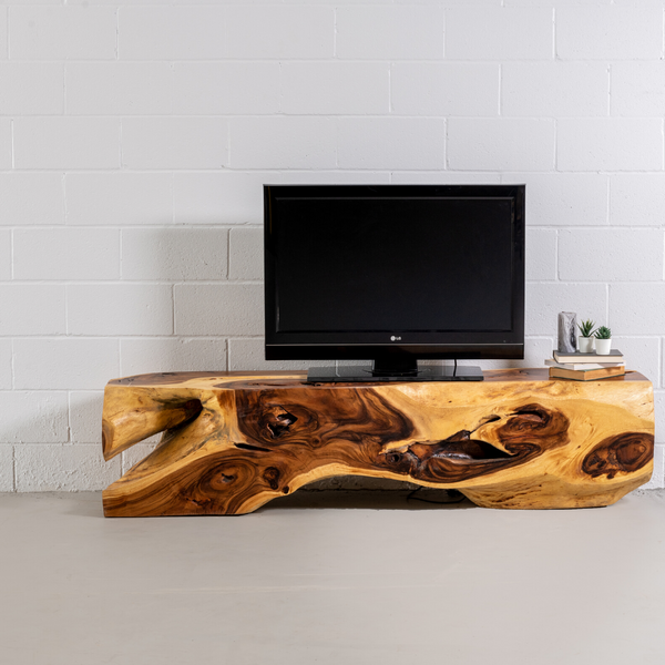 KODA - Suar Root Wood TV Unit - Wazo Furniture