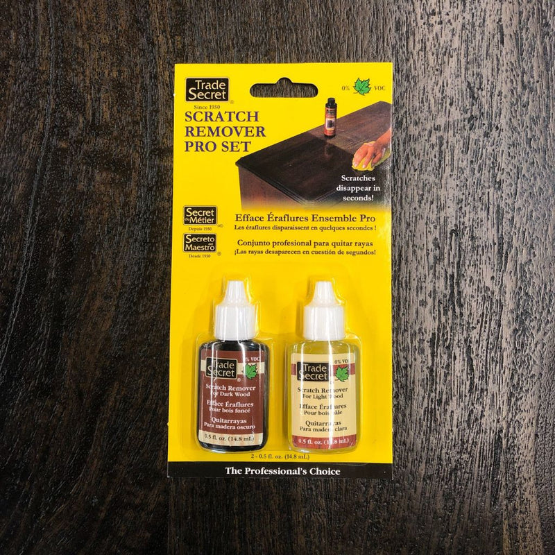 TRADE SECRET - Scratch Remover Pro Set - Wazo Furniture
