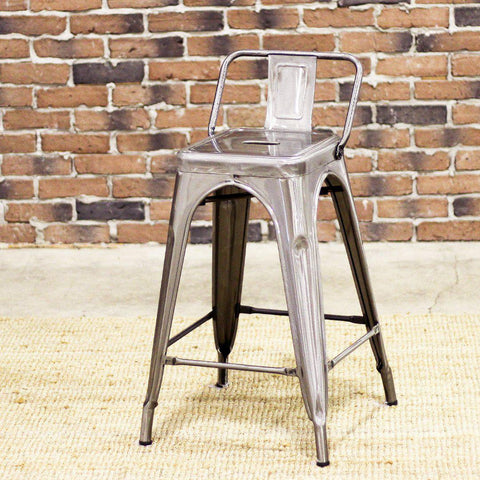 TOLIX - Counter Stool (65 cm)-Bar Stools-Wazo Furniture
