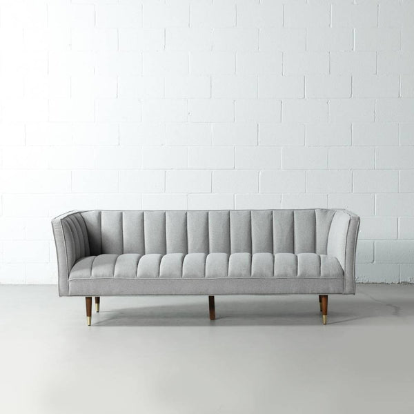 GRANT - Grey Fabric Sofa
