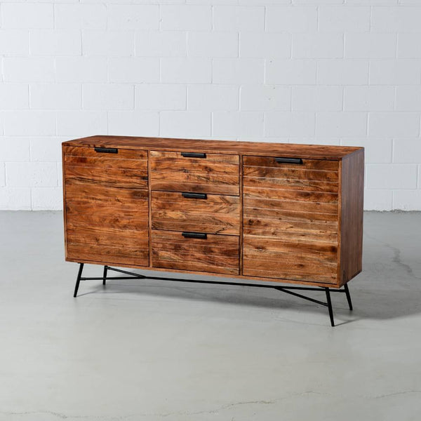 ARIA - Acacia Wood Sideboard - Wazo Furniture