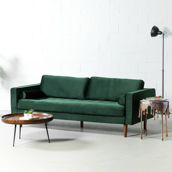 FONDA - Green Fabric Sofa