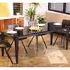 EVERLY - Extendable Glass Dining Table