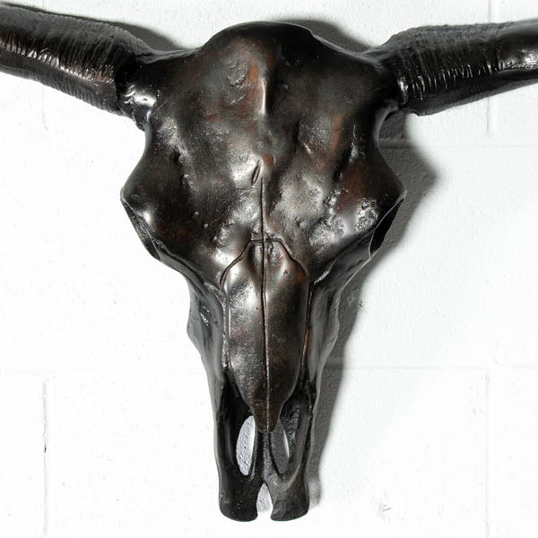 MIDO - Bull Head Scrap Metal Sculpture - Wazo Furniture