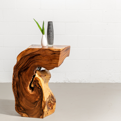 KODA - Suar Root Wood Night Table - Wazo Furniture