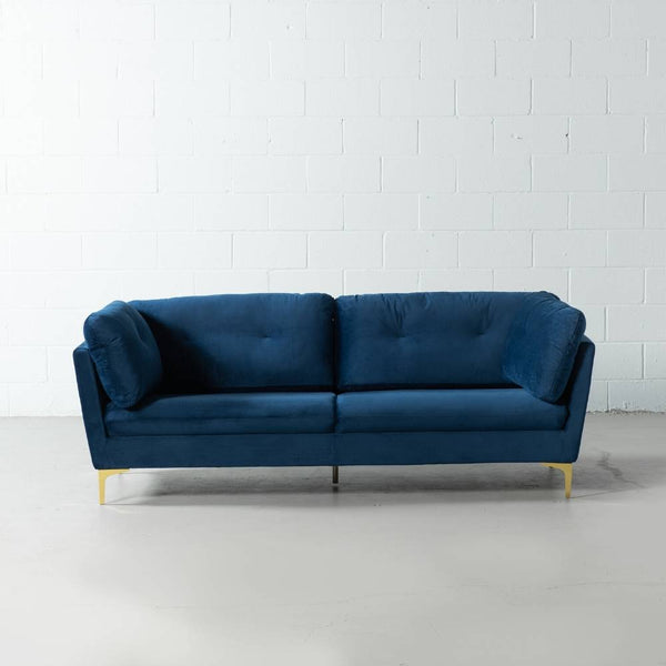 MORENO - Blue Fabric Sofa