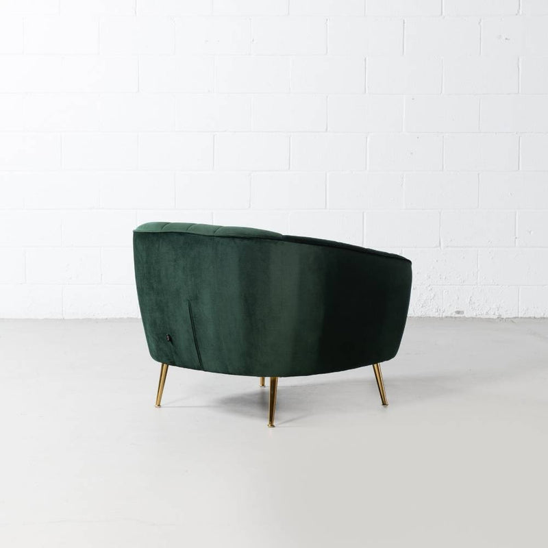 AUDREY - Green Velvet Chair