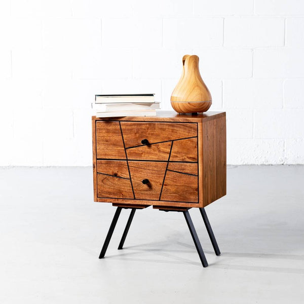 PALMA- Mid Century Night Table - Wazo Furniture