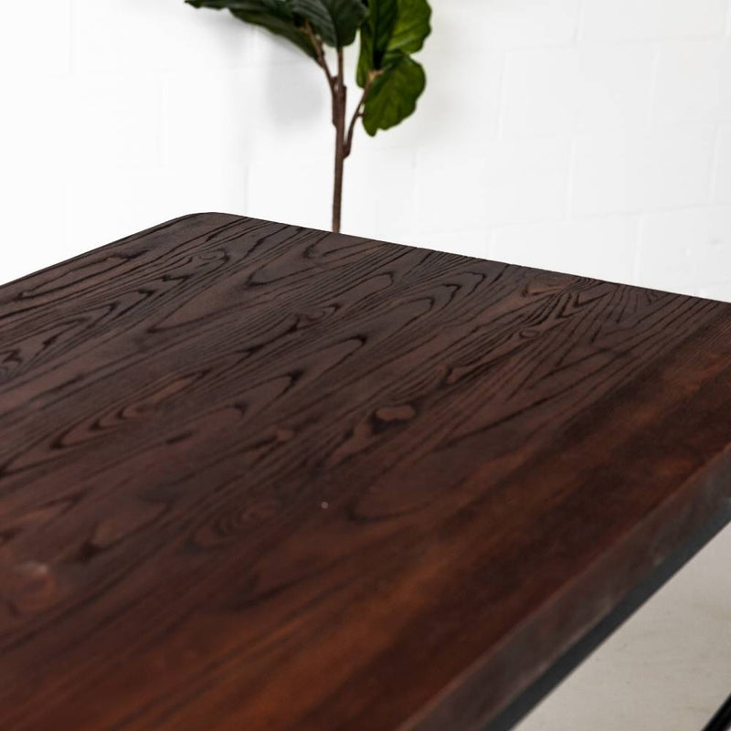 YARA - Zelkova Elm Wood Bar Table